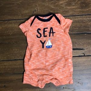 Baby Gap Sea Ya Romper